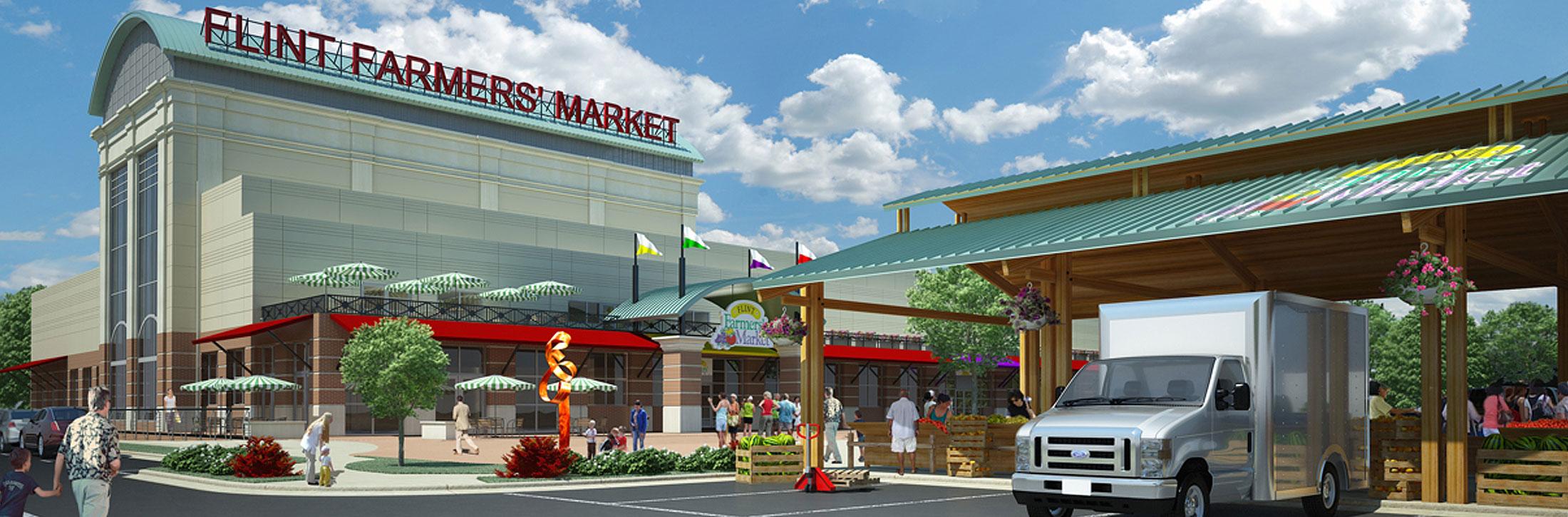 Flint Farmers' Market Announces Plans for Grand Opening June 21, 2014